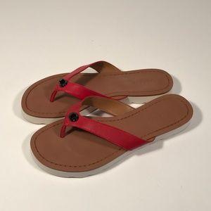 """Coach """"Shelly"""" Flip Flops Sandals Women 7 B"""